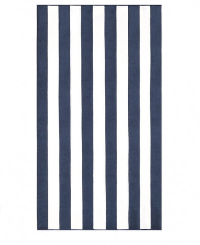 Marine Stripe Pool Towel