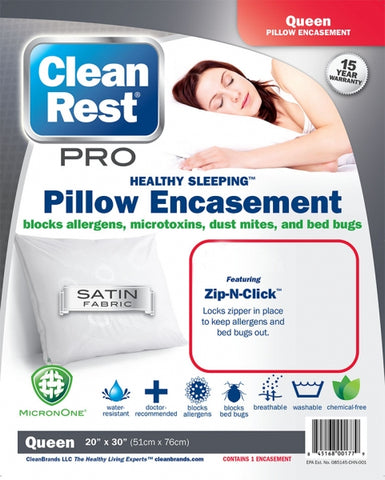 CleanRest Pro Pillow Protector