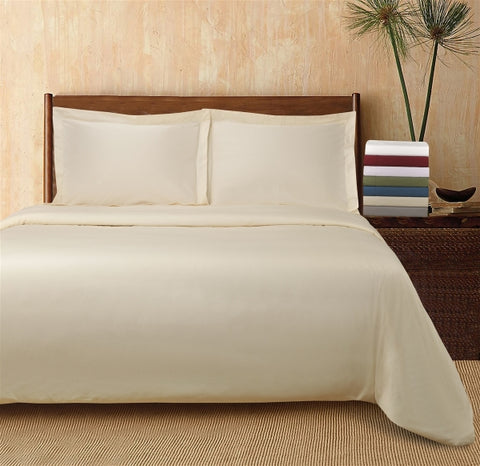 300TC Percale Solid Duvet Cover Sets