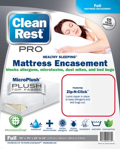 CleanRest Pro Bed Bug Encasements
