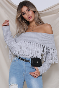 Cowgirl Knit- Grey