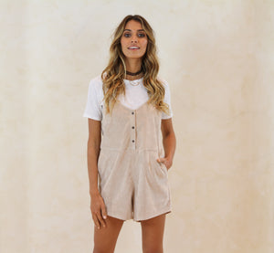 Lovers Playsuit- Beige