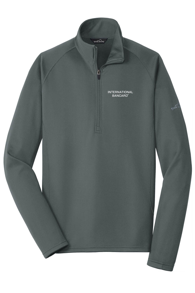 Ladies Eddie Bauer Quarter-Zip Base Layer Fleece