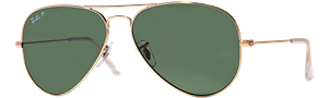 Ray-Ban Polarized Original Aviator Sunglasses