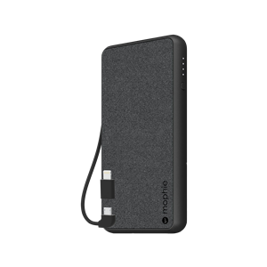 mophie Powerstation Plus - Black Fabric (6,040mAh)