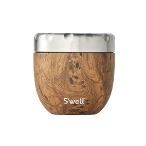 S'well Eats Teakwood 21.5 oz Food Bowl