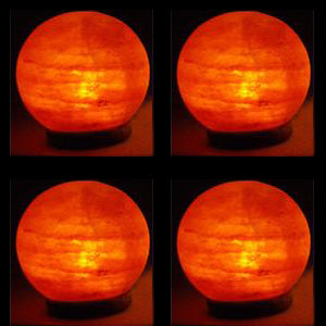 Case of Globe Salt Lamps (4 Lamps)