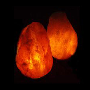 Case of 12-15 lb. Salt Lamps (2 Lamps)