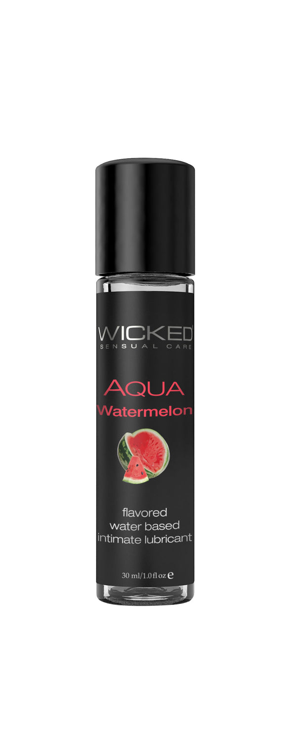Wicked Sensual Care Aqua Waterbased Ludricant - 1 Oz Watermelon