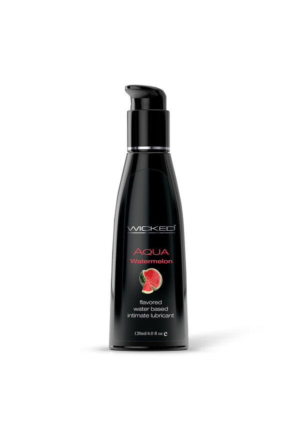 Wicked Sensual Care Aqua Waterbased Ludricant - Watermelon 4 oz