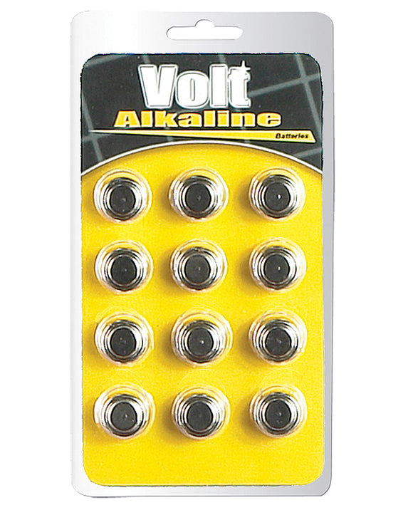 Blush Volt AG13 Alkaline Batteries - Pack Of 12 - Pearl Pleazures