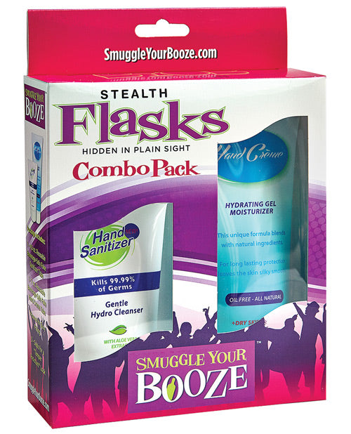 Smuggle Your Booze Hand Cream & Sanitizer Combo Pack