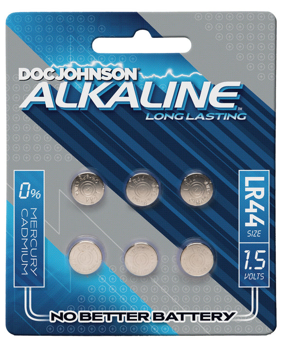 Doc Johnson Alkaline Batteries Lr44 - Pack of 6 - Pearl Pleazures