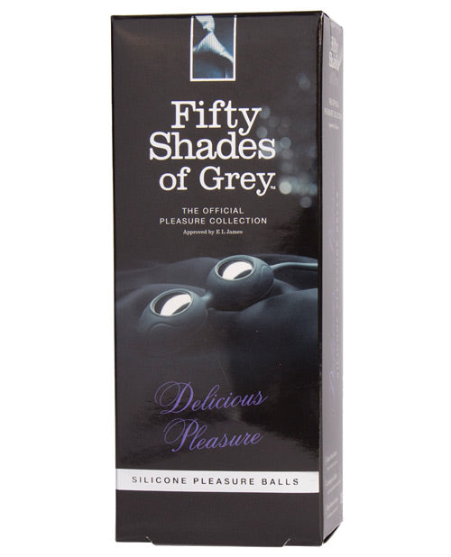 Fifty Shades of Grey - 'Delicious Pleasure' Silicone Pleasure Balls - Pearl Pleazures