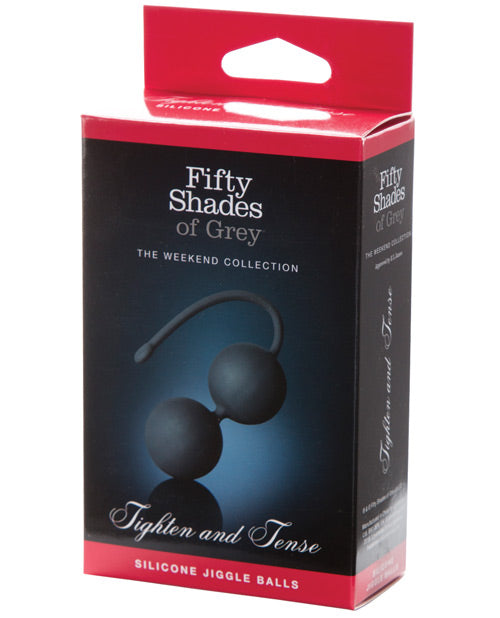 Fifty Shades of Grey - 'Tighten and Tense' Silicone Jiggle Balls - Pearl Pleazures