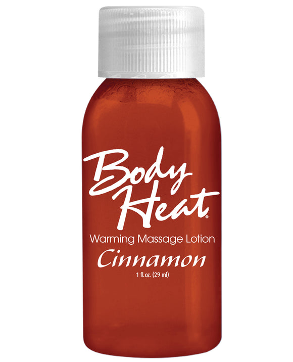 Body Heat Lotion  - 1 Oz Cinnamon - Pearl Pleazures