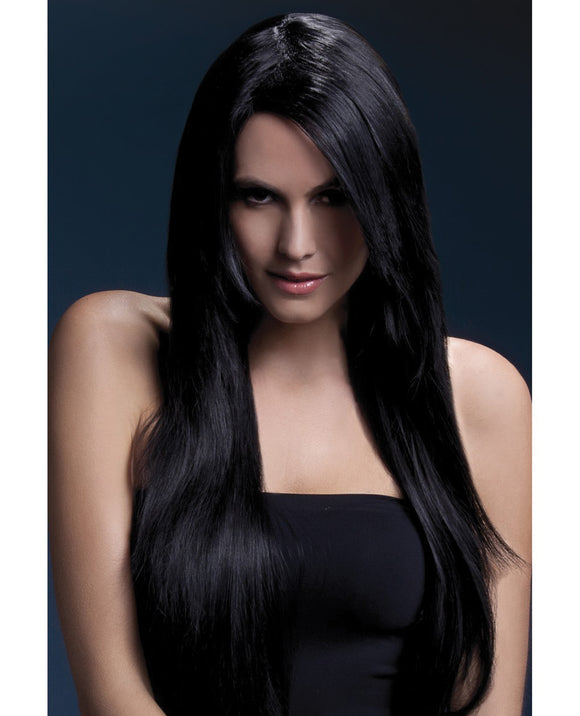 Black Long Wig - Fever Amber Collection - Pearl Pleazures