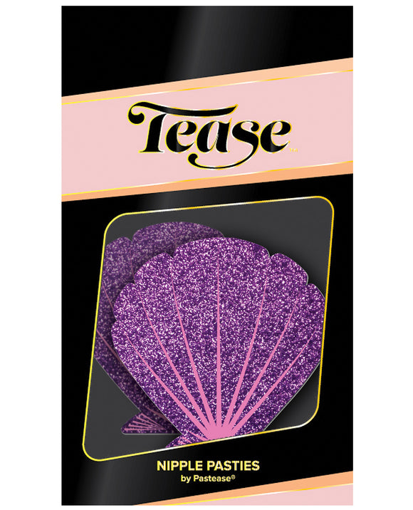 Pastease Mermaid Glitter Seashell - Pink
