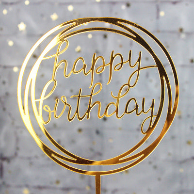 Happy Birthday Cake Topper Ellie J Shoppe
