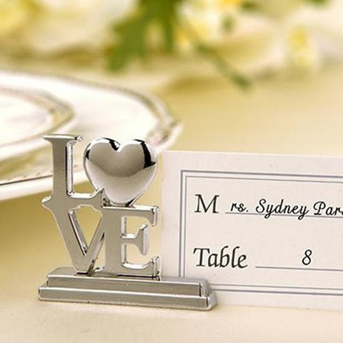 LOVE Place Card Holder - 10 Pieces - Ellie J Shoppe