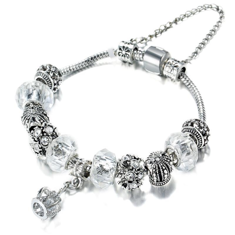 PAIGE Crown Charm Bracelet - Ellie J Shoppe