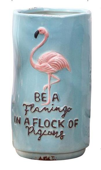 Flamingo Vase - Ellie J Shoppe