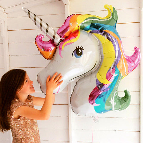 Unicorn Head Balloon - Ellie J Shoppe