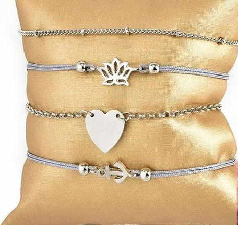 HANNA Bracelet Set - Ellie J Shoppe