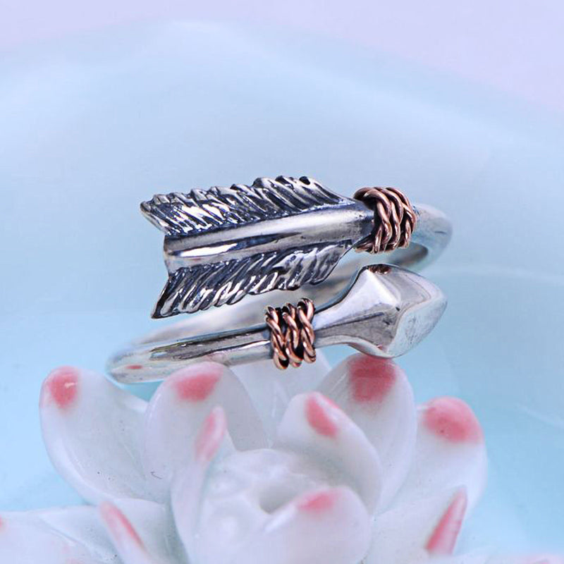 Vintage Arrow Ring - Ellie J Shoppe