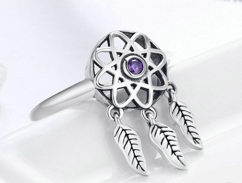 LILLIAN Dreamcatcher Ring - Ellie J Shoppe