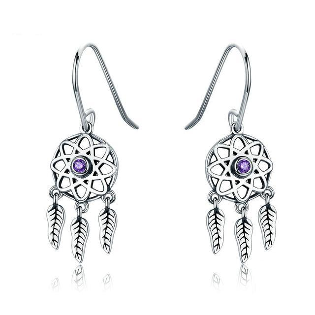 Lillian Dreamcatcher Earrings - Ellie J Shoppe