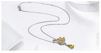 LENA Butterfly Necklace - Ellie J Shoppe