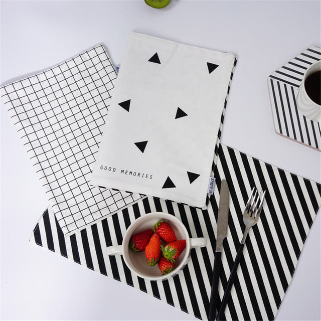 Cotton Double Sided Placemat - Ellie J Shoppe