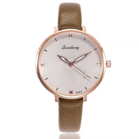 EVELYN Leather Strap Watch - Ellie J Shoppe