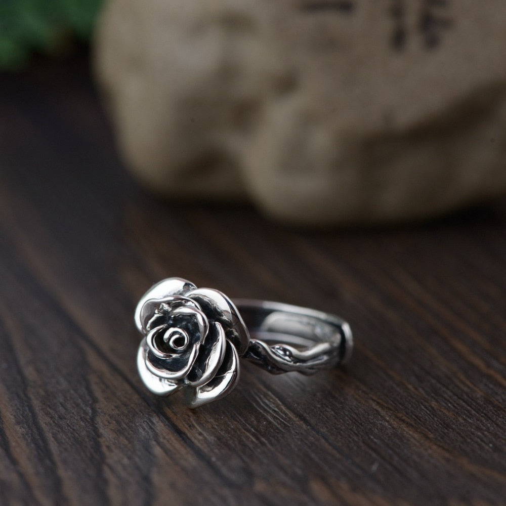 Vintage Rose Ring - Ellie J Shoppe