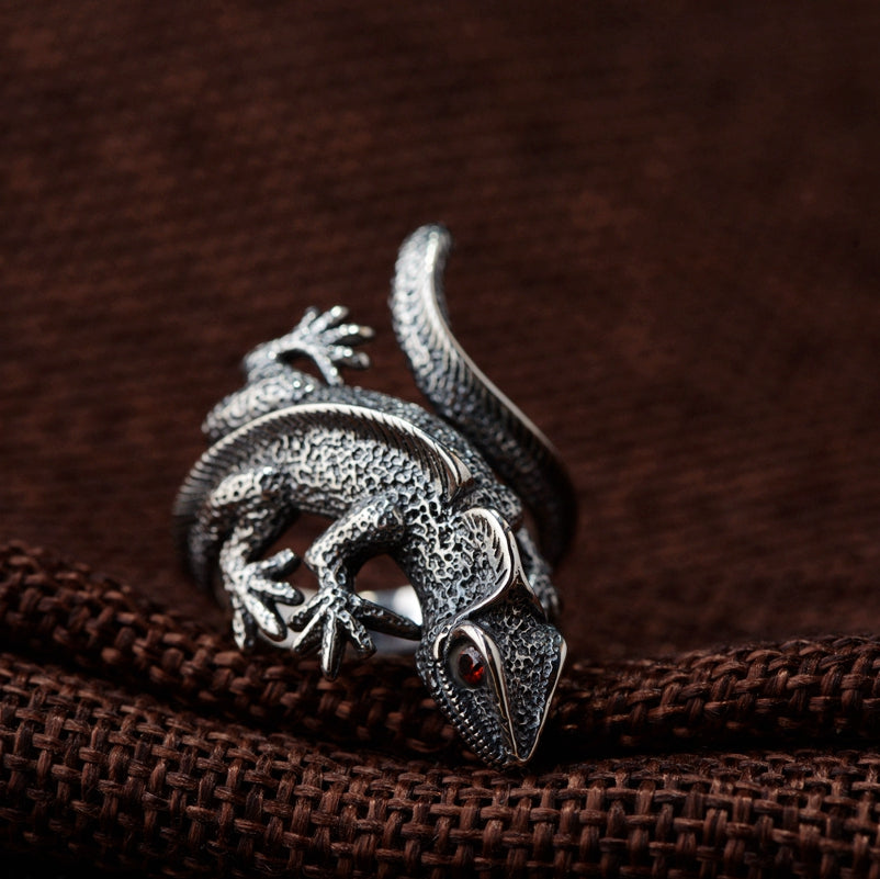 Vintage Lizard Ring - Ellie J Shoppe