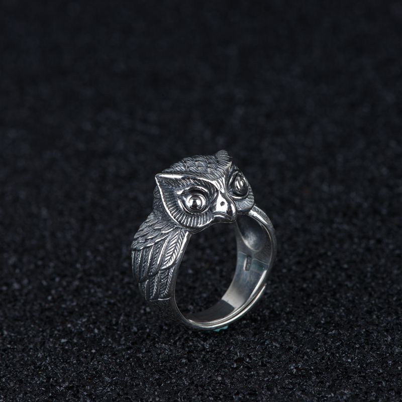 Vintage Owl Ring - Ellie J Shoppe