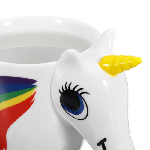 Color Changing Rainbow Unicorn Mug - Ellie J Shoppe