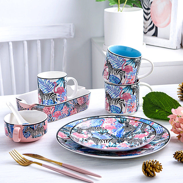 Tropical Tableware - Ellie J Shoppe