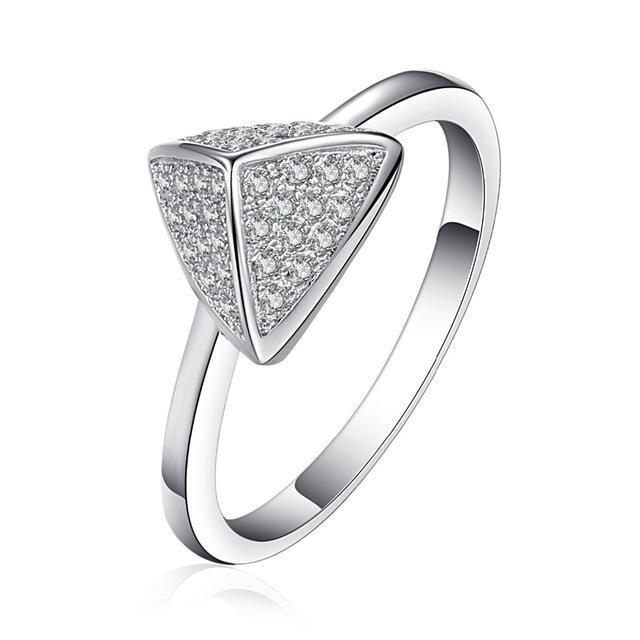 LUCY Pyramid Ring - Ellie J Shoppe