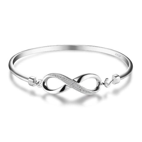 TERAH Infinity Symbol Bangle - Ellie J Shoppe