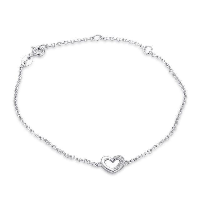 NORA Heart Chain Bracelet - Ellie J Shoppe