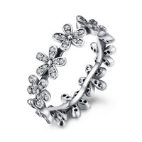 MORGAN Daisy Flower Ring - Ellie J Shoppe