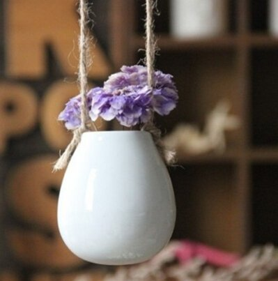 Hanging Ceramic Planter - Ellie J Shoppe