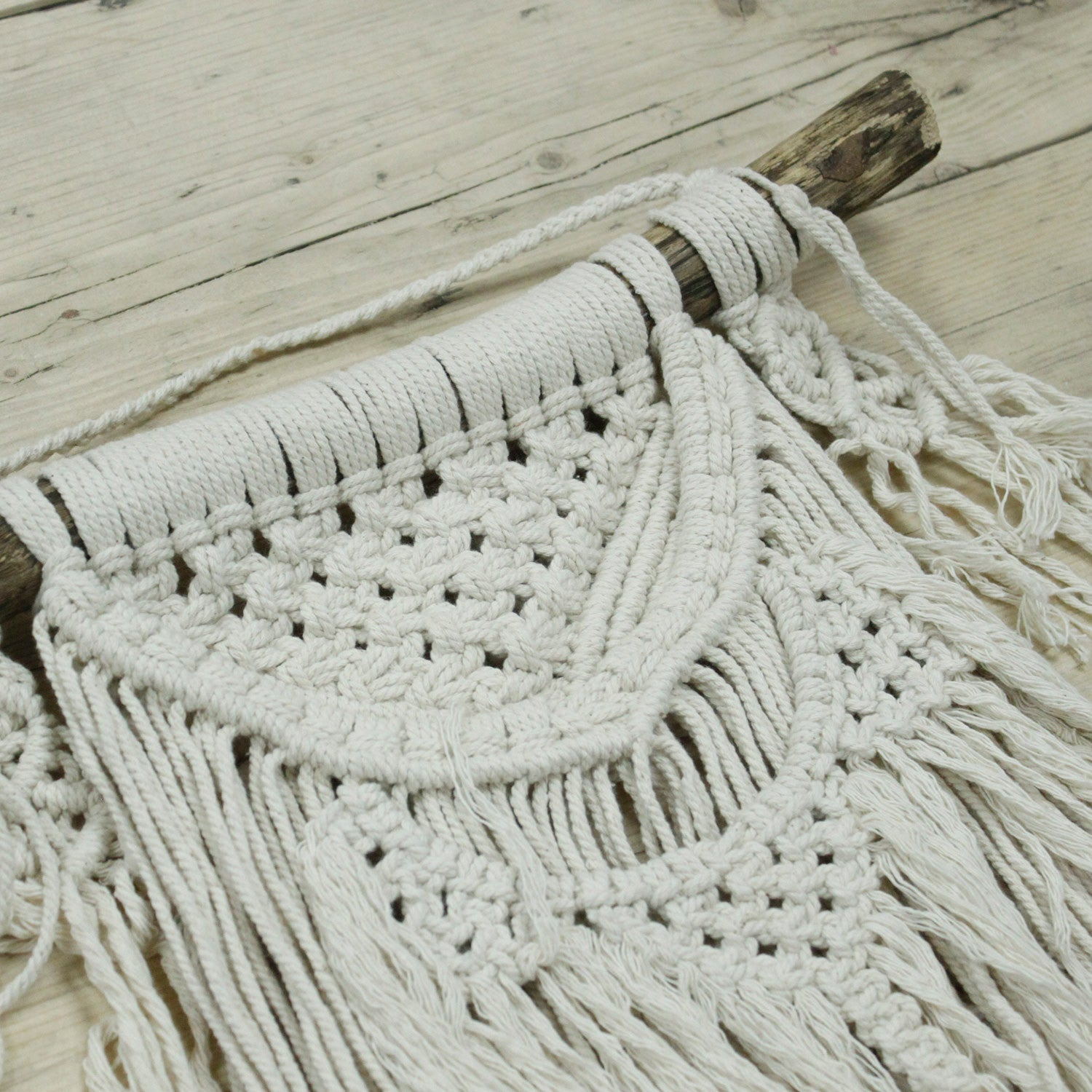 Natural Abundance Macrame Wall Hanging - Ellie J Shoppe