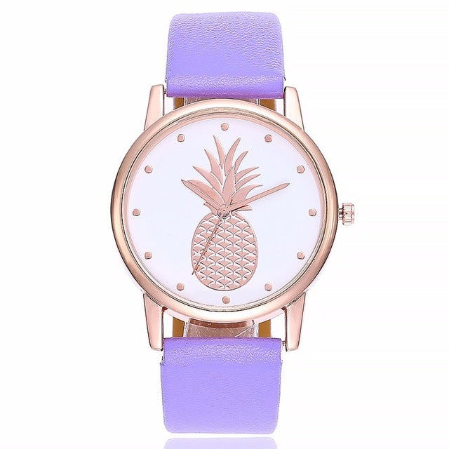 PAULINA Pineapple Watch - Ellie J Shoppe