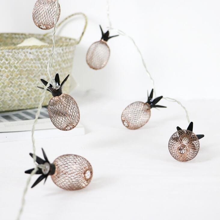 Pineapple LED String Lights - Ellie J Shoppe