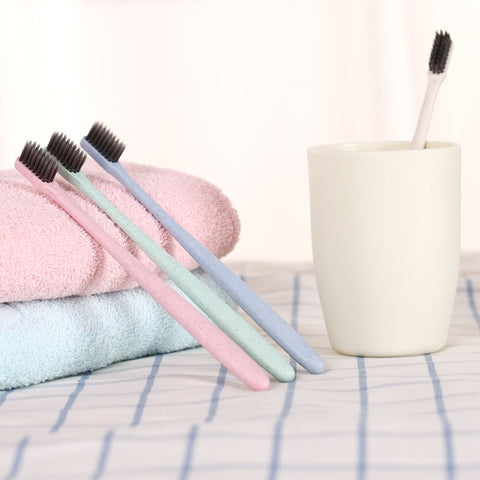 Charcoal Toothbrush - Ellie J Shoppe