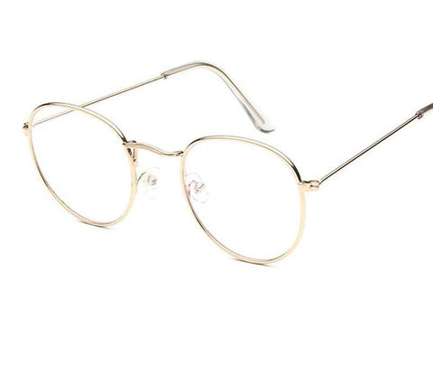 Metal Wire Clear Lens Glasses - Ellie J Shoppe