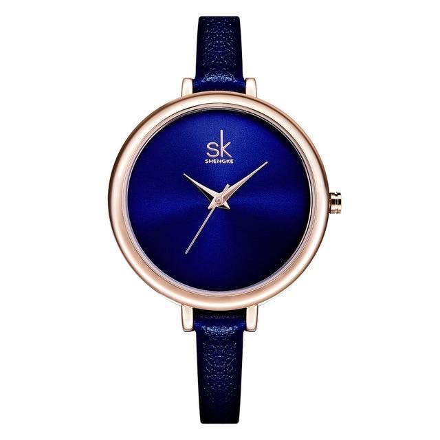 KAMI  Leather Strap Watch - Ellie J Shoppe